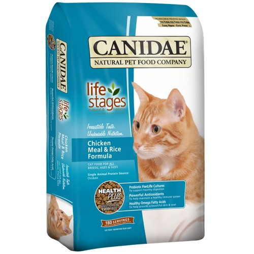 CANIDAE 雞肉紅米配方乾貓糧