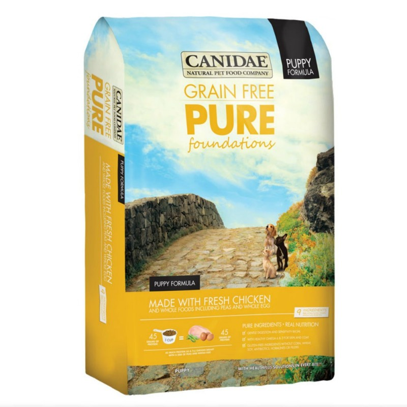 CANIDAE PURE Foundations 無穀物幼犬配方狗糧