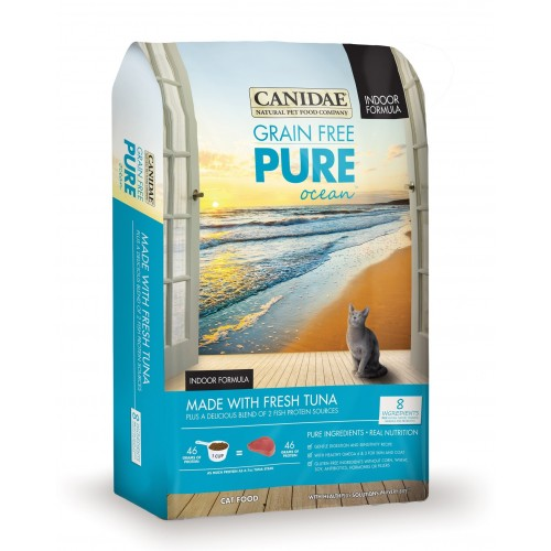 CANIDAE PURE Ocean 無穀物吞拿魚配方乾貓糧