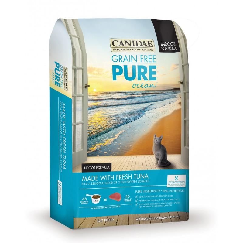 CANIDAE PURE Ocean 無穀物吞拿魚配方貓糧
