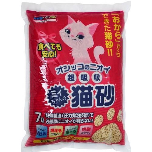 MITYAN 超吸收 紅袋單通 日本豆腐貓砂 (7L)
