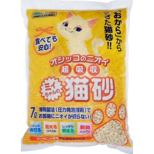 MITYAN 超吸收 橙袋雙通 日本豆腐貓砂 (7L)