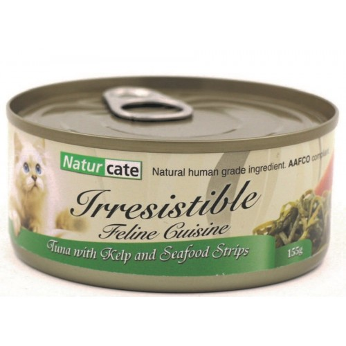 NATURCATE 吞拿魚,海藻,海鮮 濕貓糧