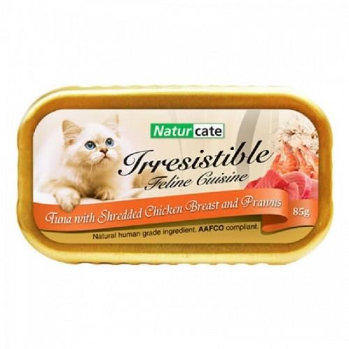 NATURCATE 吞拿魚,雞肉,海蝦 濕貓糧