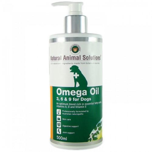 NAS NATURAL ANIMAL SOLUTIONS 有機奧米加369油