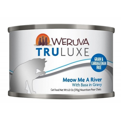 WERUVA 尊貴系列 巴沙魚 (藍色)貓罐頭
