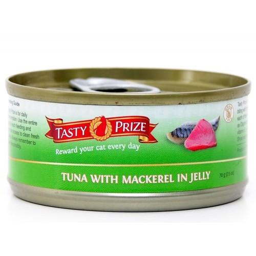 TASTY PRIZE 滋味賞 吞拿魚伴鯖魚貓罐頭