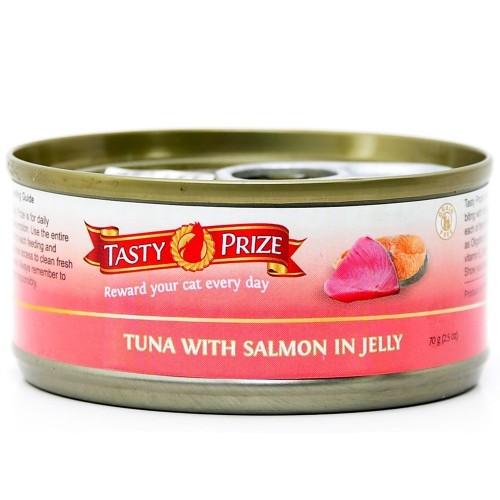 TASTY PRIZE 滋味賞 吞拿魚伴三文魚 貓罐頭