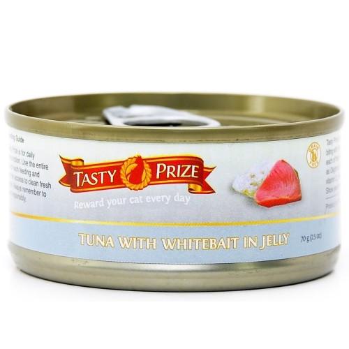 TASTY PRIZE 滋味賞 吞拿魚伴白飯魚 貓罐頭