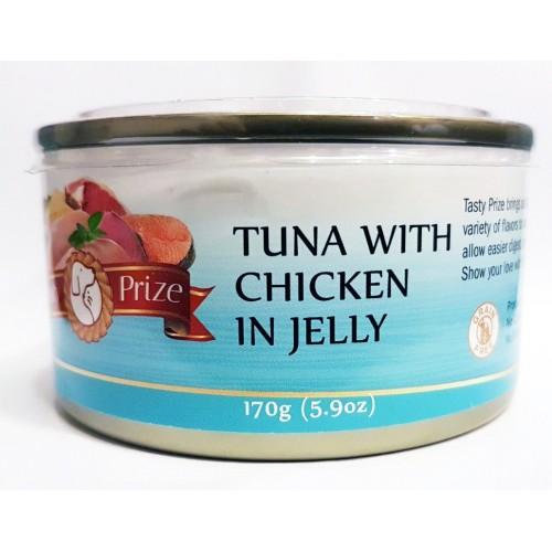 TASTY PRIZE 滋味賞 吞拿魚伴雞貓罐頭