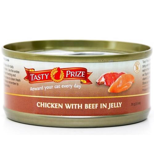 TASTY PRIZE 滋味賞 雞伴牛肉貓罐頭