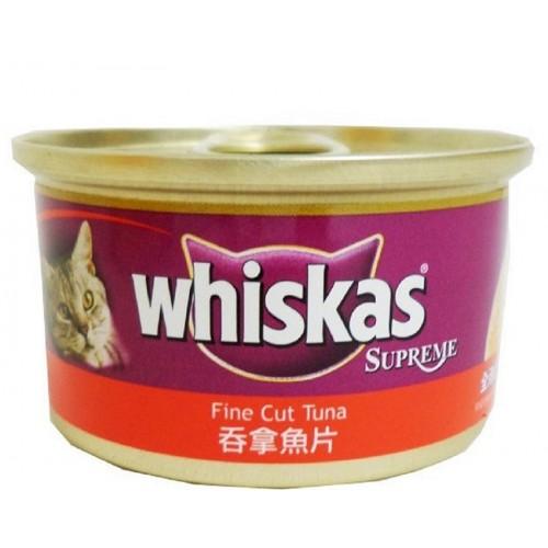 WHISKAS 偉嘉 吞拿魚片貓罐頭