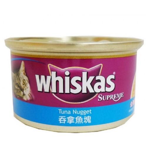 WHISKAS 偉嘉 吞拿魚塊貓罐頭