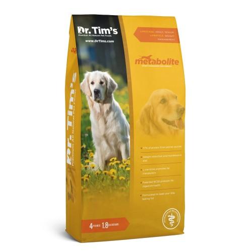 DR. TIM'S Metabolite 低脂肪,高齡犬配方(雞肉三文魚)乾狗糧