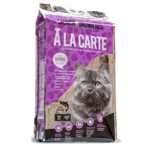 A LA CARTE 三文魚糙米配方乾全貓糧