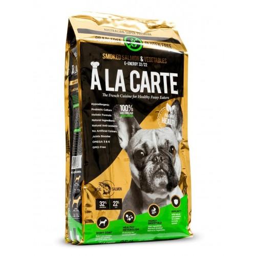 A LA CARTE 無穀物三文魚新鮮蔬菜配方乾全犬糧