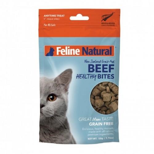 FELINE NATURAL 凍乾牛肉健康貓貓零食