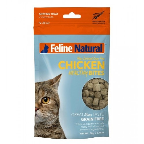 FELINE NATURAL 凍乾雞肉健康貓貓零食
