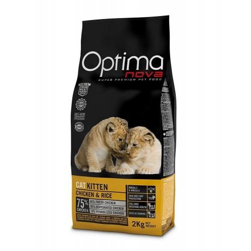 OPTIMA NOVA 幼獅子母孕育配方乾貓糧