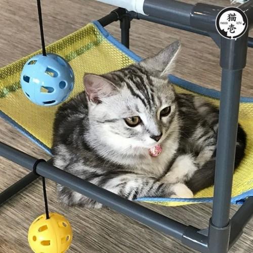 NECOICHI 貓壹 雙層組合貓享吊床