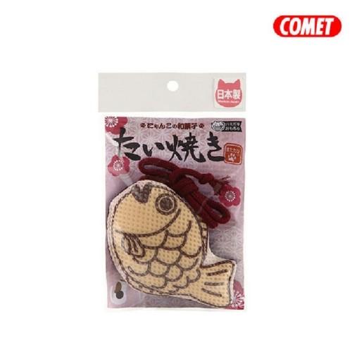 COMET 木天蓼潔牙玩具 - 鯛魚燒