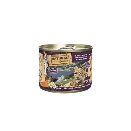 NATURAL GREATNESS 兔肉和鴨肉貓罐頭