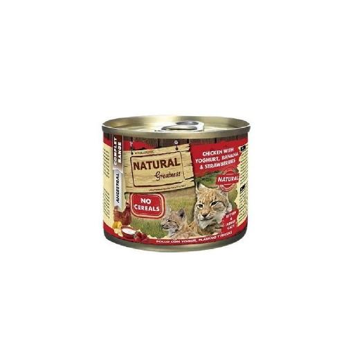 NATURAL GREATNESS 雞肉和乳酪貓罐頭