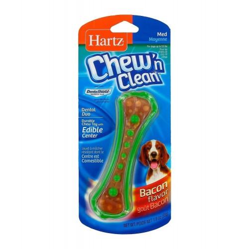 HARTZ Chew 'n Clean 潔齒玩具 煙肉味(中)