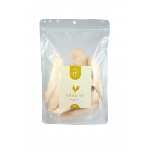真味 韓國凍乾小食 - 雞柳肉 100g 貓狗合用 Korean Freeze Dried Snack - Chicken Strips 100g for Cats and Dogs