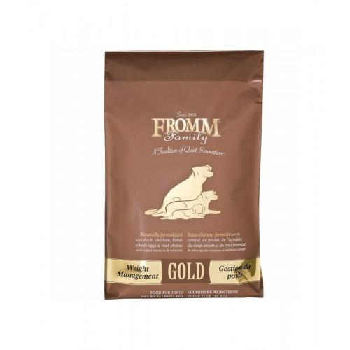 FROMM Gold 福摩金裝 雞火雞魚蔬菜配方低脂/體重控制乾狗糧