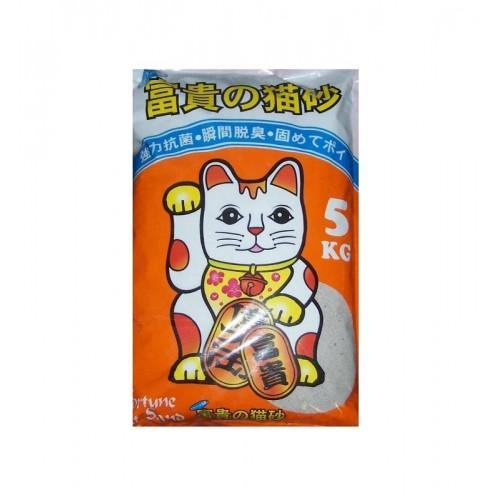 FORTUNE 富貴の貓砂 特強凝結礦物貓砂 5公斤