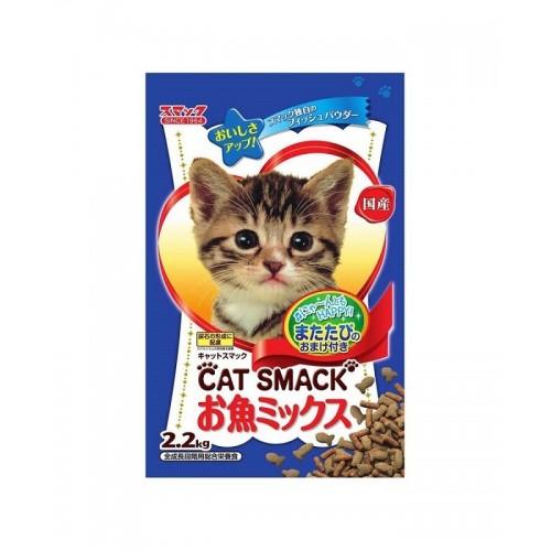 日の味 CAT SMACK 鮮魚併盤 泌尿護理乾貓糧