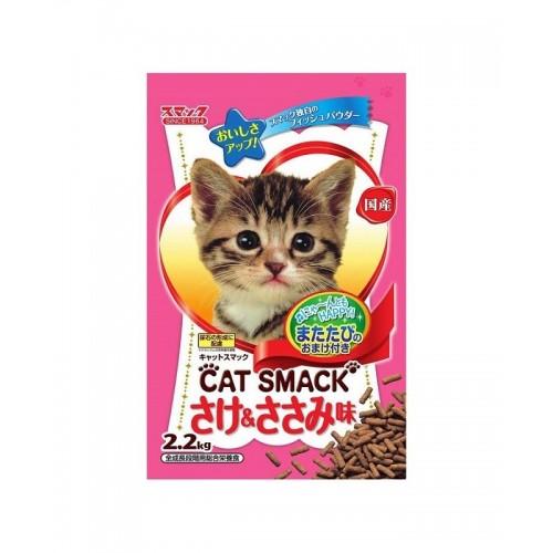日の味 CAT SMACK 三文魚,雞肉味 泌尿護理乾貓糧