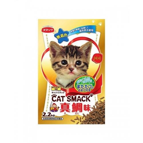 日の味 CAT SMACK 真鯛魚味 泌尿護理乾貓糧