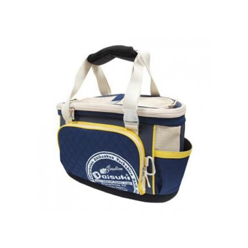 DAISUKI 碗豆型硬底側背包寵物袋 L CB07L系列