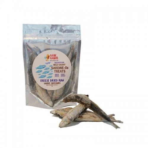 RAW RAWR 沙甸魚凍乾小食(適合貓狗食用) 70g