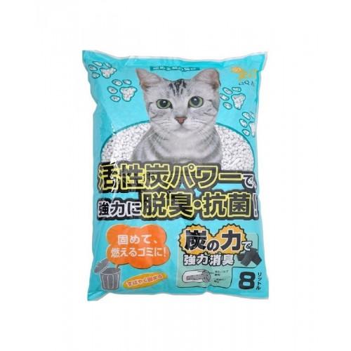QQ KIT 活性碳紙貓砂 8L