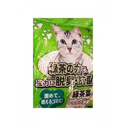 QQ KIT 綠茶紙貓砂 7L
