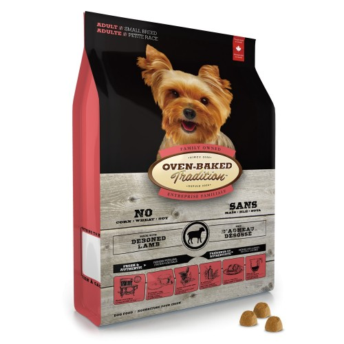 OVEN-BAKED 奧雲寶成犬糧 紐西蘭羊肉配方乾狗糧 細粒裝