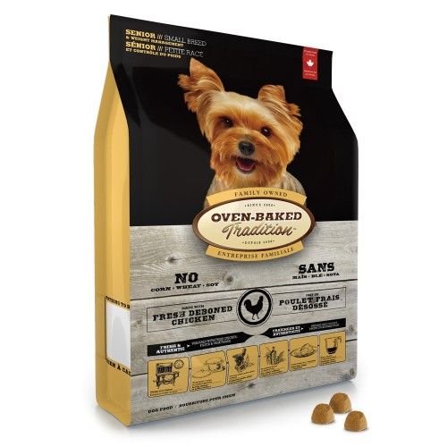 OVEN-BAKED 奧雲寶老犬糧 體重控制配方乾狗糧 細粒裝