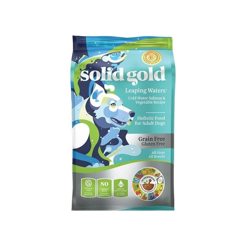 SOLID GOLD 素力高 無穀物(三文魚)乾狗糧
