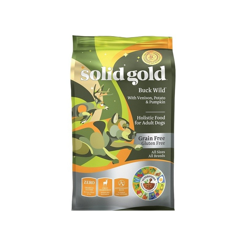 SOLID GOLD 素力高 無穀物(鹿肉)乾狗糧