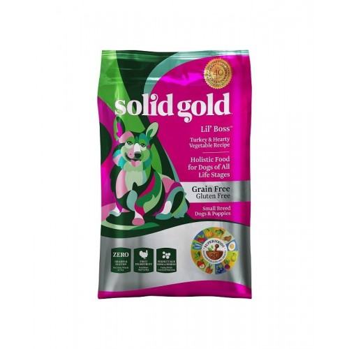 SOLID GOLD 素力高 無穀物(小型犬)乾狗糧 4Lb/12Lb