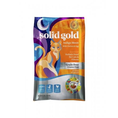SOLID GOLD 素力高 無穀物(抗敏)雞肉乾貓糧 3Lb/6Lb/12Lb