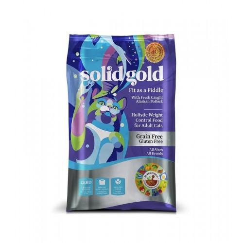 SOLID GOLD 素力高 無穀物(鱈魚低卡)乾貓糧 3Lb/6Lb/12Lb