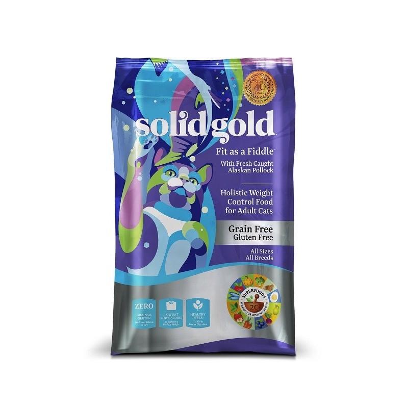 SOLID GOLD 素力高 無穀物(鱈魚低卡)乾貓糧