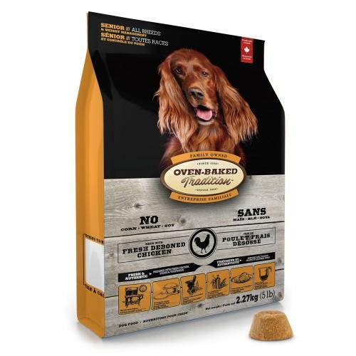 OVEN-BAKED 奧雲寶老犬糧 體重控制配方乾狗糧 大粒裝