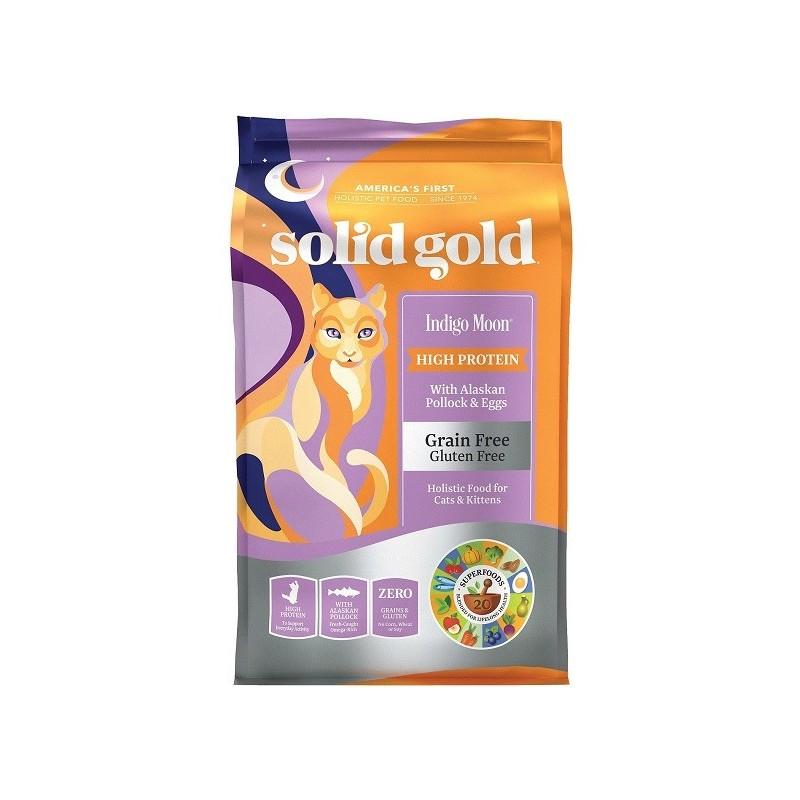 SOLID GOLD 素力高 無穀物(抗敏鱈魚)乾貓糧 3Lb