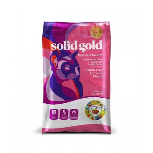 SOLID GOLD 素力高 全年齡優質乾貓糧 4Lb/12Lb