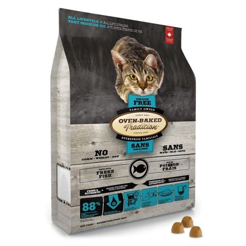 OVEN-BAKED 奧雲寶全貓糧 無穀物5種魚配方 乾貓糧